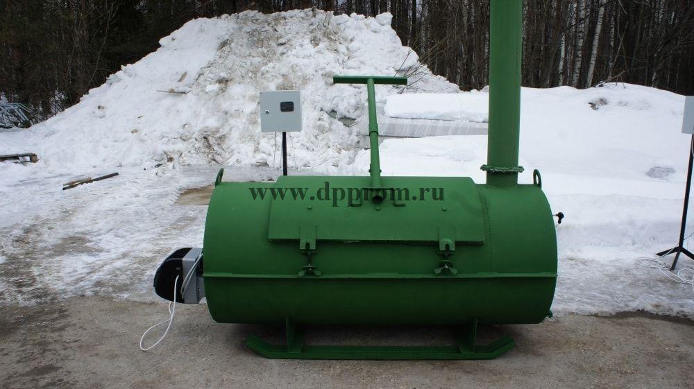 Крематор АМД-200 - фото 52633