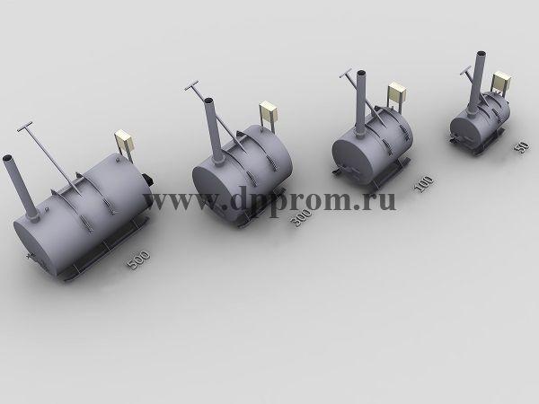 Крематор ДПП-100Д - фото 52731