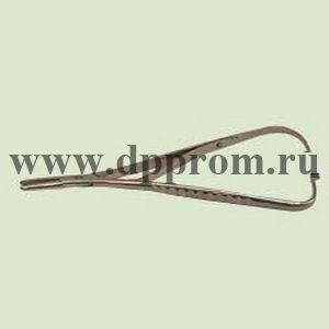 Держатель для игл, нержавеющая сталь, длина 17 см.