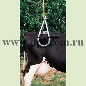 Механизм подъема парализованной коровы, стандартная модель