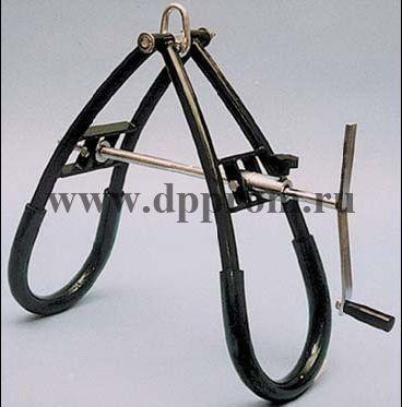 Механизм подъема парализованной коровы, упрочненная модель