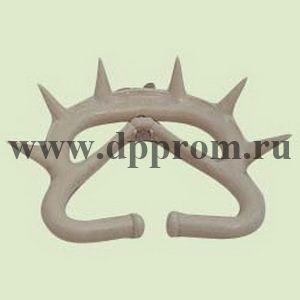 Носовое анти-молочное кольцо с шипами для телят, пластиковое, большое