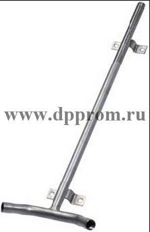 """Опора для ниппеля, нержавеющая сталь, длина 600 мм. Соединение 1/2"""", 30 гр., на 2 ниппеля"""