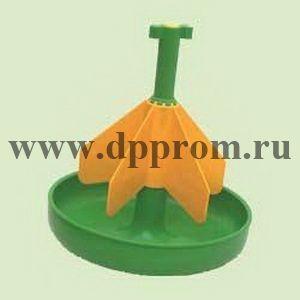 Кормушка для престартерных комбикормов, зеленого цвета