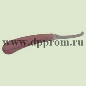 Копытный нож Аескулап ВС 300 , правая стандартная заточка, деревянная ручка