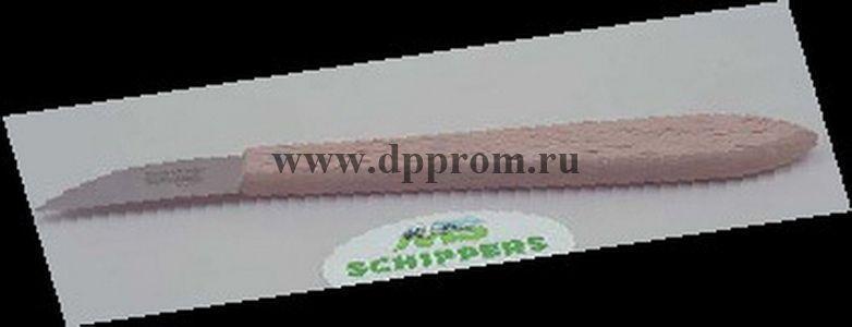 Копытный нож для овец, короткое лезвие, деревянная ручка