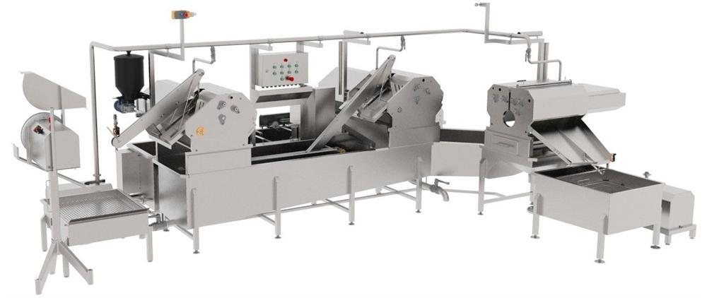 Автоматическая линия для обработки черевы свиней BW-MCP