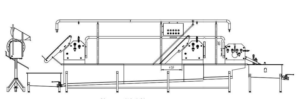 Автоматическая линия для обработки черевы свиней BW-MCP - фото 53917