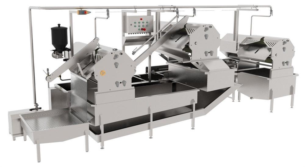 Автоматическая линия для обработки черевы КРС BW-MCB