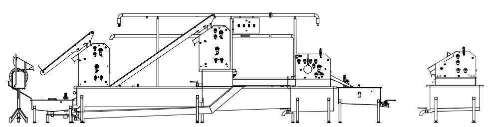 Автоматические и полуавтоматические, комбинированные линии (машины) для обработки черевы свиней/КРС/МРС BW-MCU - фото 53921