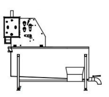 Полуавтоматическая линия для обработки черевы КРС BW-MCB - фото 53923