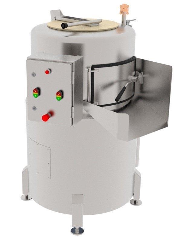 Центрифуга для обработки рубцов, книжек, сычугов КРС/МРС, свинных желудков BW-WCR - фото 53927