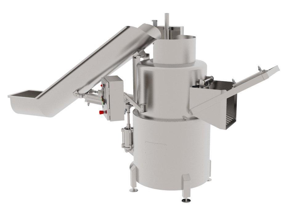 Центрифуга для обработки рубцов, книжек, сычугов КРС/МРС, свинных желудков BW-WCR - фото 53928