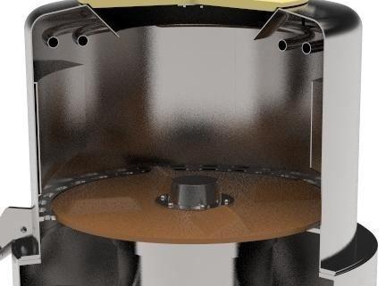 Центрифуга для обезжиривания рубцов и книжек КРС BW-WCL - фото 53931