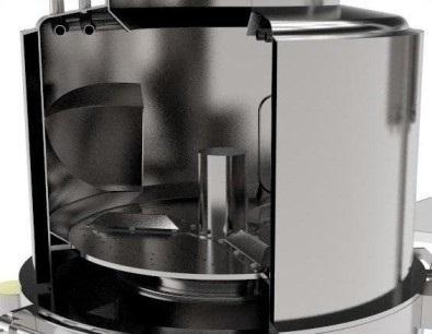Центрифуга для обезволашивания голов, ног, лобаша КРС, свинных ног, голов, ушей и хвостов BW-WCD - фото 53936