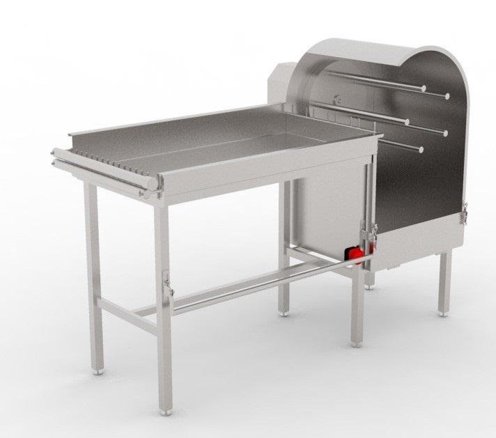 Машины для засолки черевы свиней/КРС/МРС в сетки BW-MSS, в пучки BW-MSN