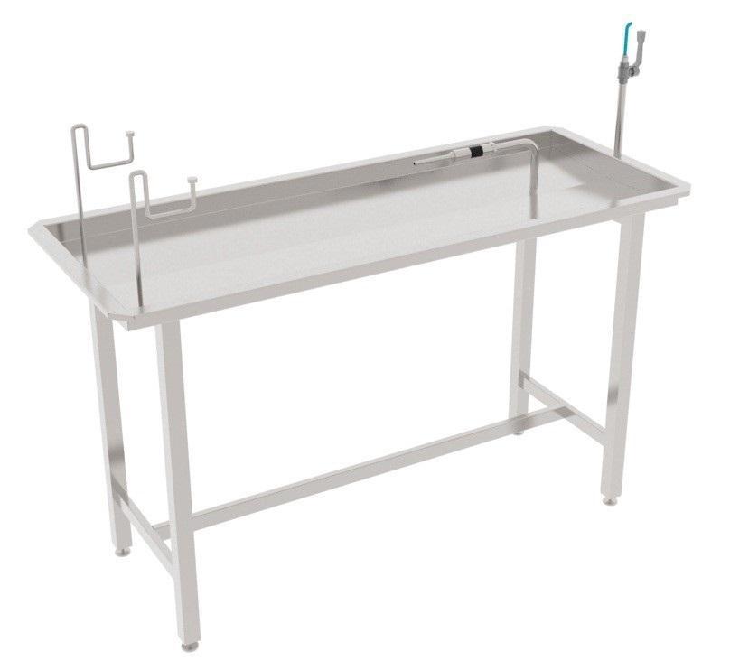 Стол для обработки пузырей свиней/КРС/МРС, для надувания пузырей свиней/МРС BW-TCB