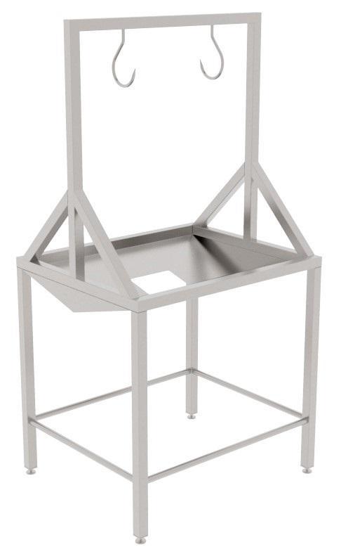 Стол для предобезжиривания кудрявок, проходников свиней, синюг, кругов, проходников КРС/МРС BW-THF - фото 53960