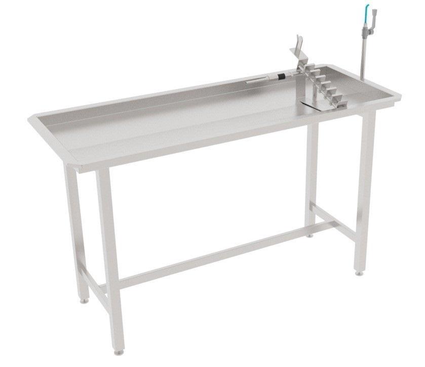 Калибровочный стол для калибровки проходников свиней/МРС/КРС BW-TCF