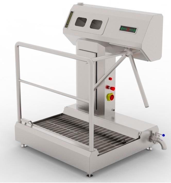 Устройство санитарно-пропускное BW-HF-01 - фото 54032
