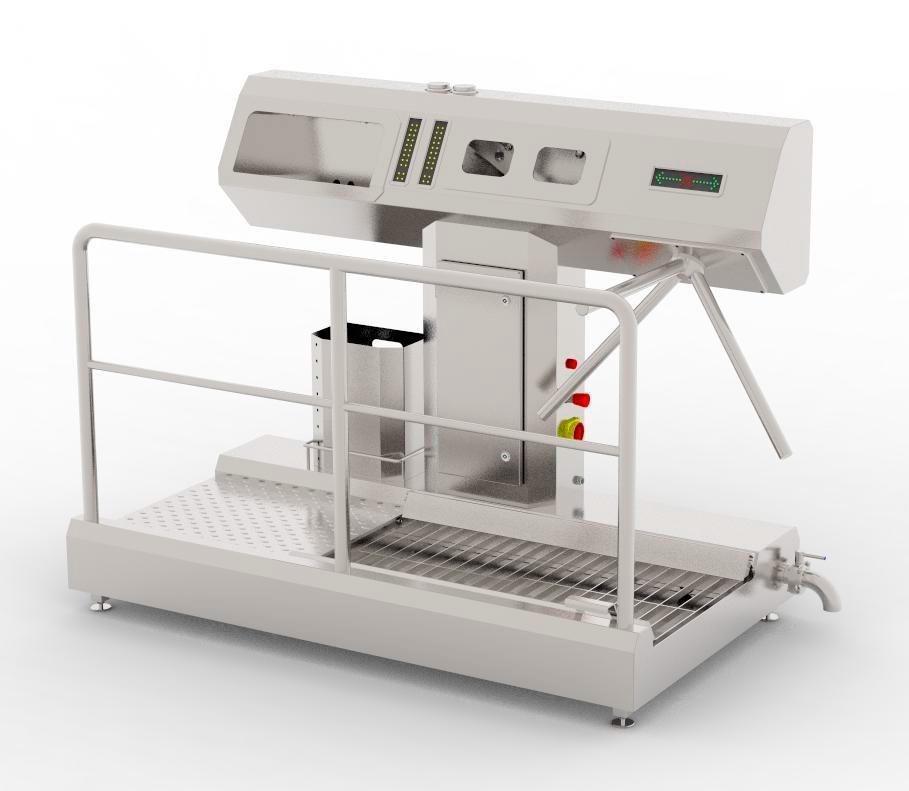 Устройство санитарно-пропускное BW-HF-02