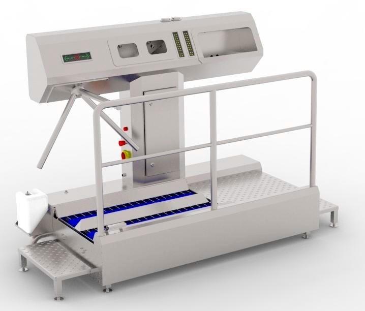 Устройство санитарно-пропускное BW-HF-04