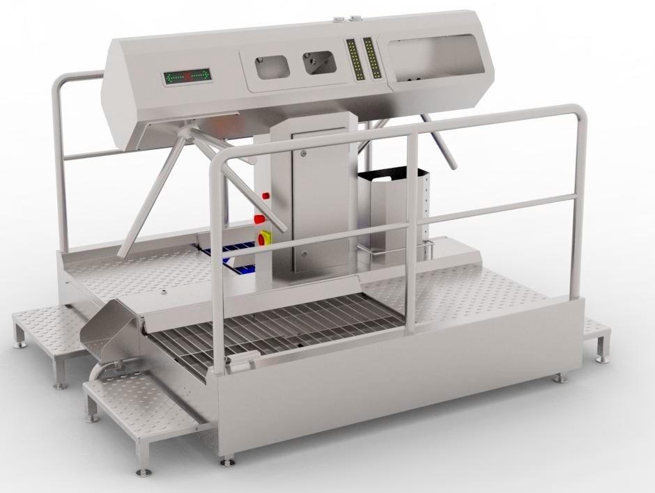 Устройство санитарно-пропускное BW-HFD-02