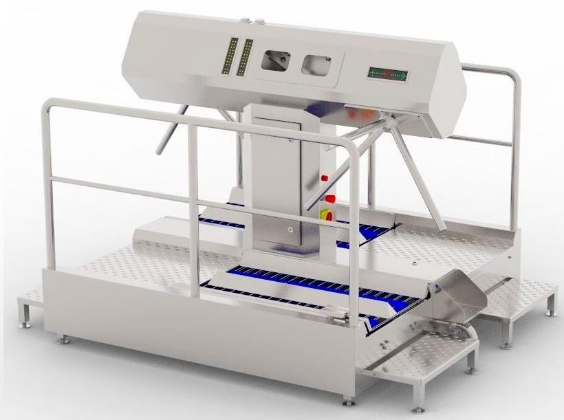 Устройство санитарно-пропускное BW-HFD-03