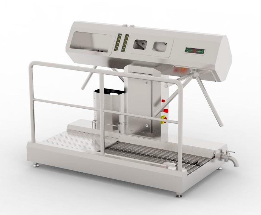 Устройство санитарно-пропускное BW-HFD-02.1