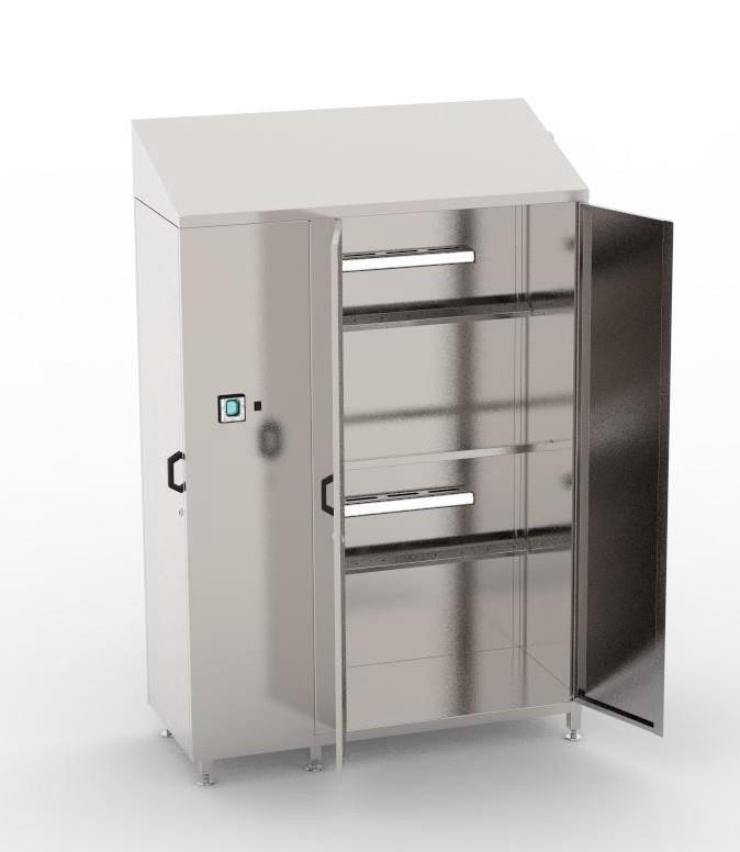 Шкаф для сушки и стерилизации спецодежды BW-CSD