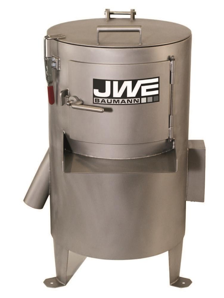 Машина для чистки рубцов JWE 20