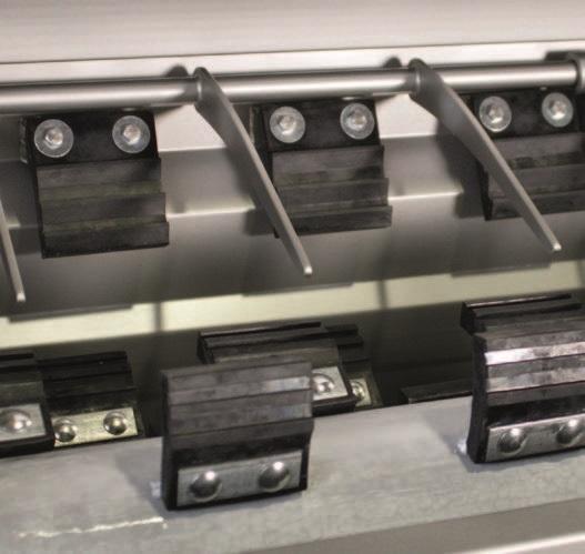 Комбинированный шпарчан и скребмашина с двумя вальцами JWE CSDM 25-19S - фото 54381