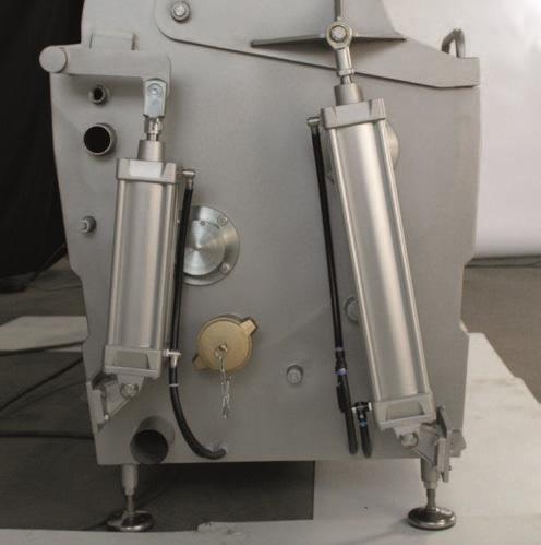 Комбинированный шпарчан и скребмашина с двумя вальцами JWE CSDM 25-19S - фото 54382