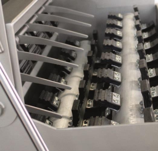 Комбинированный шпарчан и скребмашина с двумя вальцами JWE CSDM 25-21S - фото 54389