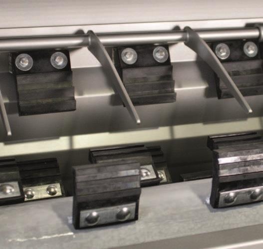 Комбинированный шпарчан и скребмашина с двумя вальцами JWE CSDM 25-21S - фото 54391
