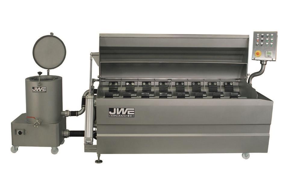 Комбинированный шпарчан и скребмашина с двумя вальцами JWE CSDM 27-19S