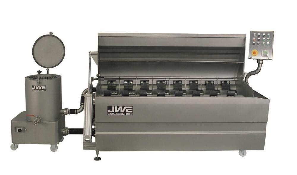 Комбинированный шпарчан и скребмашина с двумя вальцами JWE CSDM 27-21S