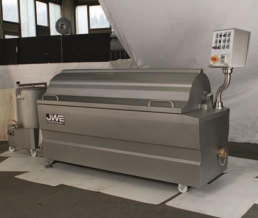 Комбинированный шпарчан и скребмашина с двумя вальцами JWE CSDM 27-21S - фото 54402