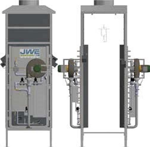 Печь для опалки JWE CM 250 - фото 54418