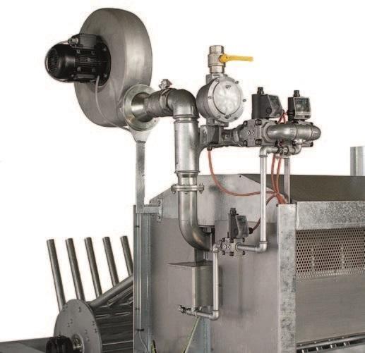 Двухвалковая скребмашина с барабанным шпарчаном JWE SDM 16-60 - фото 54438