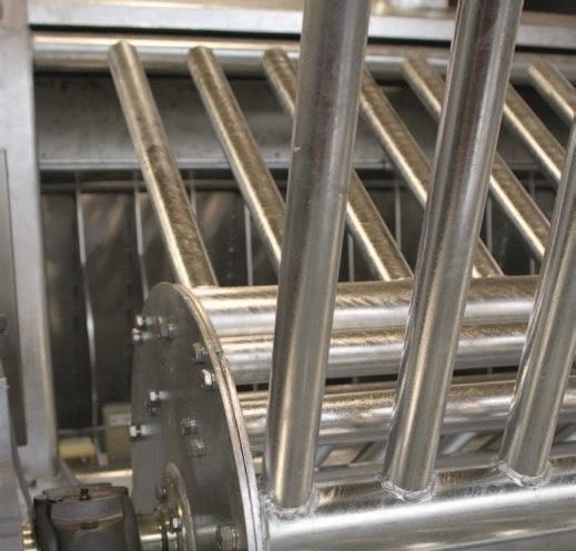 Двухвалковая скребмашина с барабанным шпарчаном JWE SDM 50-60 - фото 54443