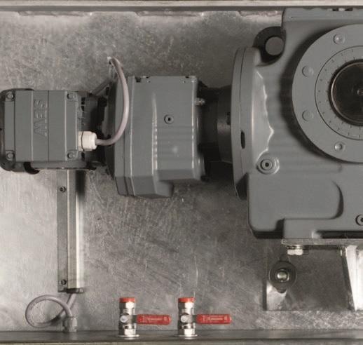 Двухвалковая скребмашина с автоматическим проходным шпарчаном JWE SDM 50-160 - фото 54448