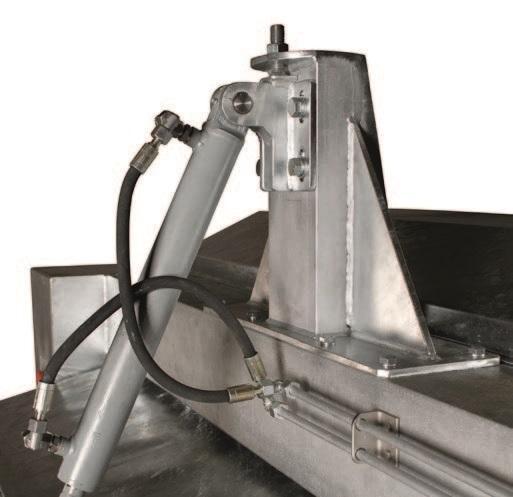 Двухвалковая скребмашина с автоматическим проходным шпарчаном JWE SDM 50-160 - фото 54449