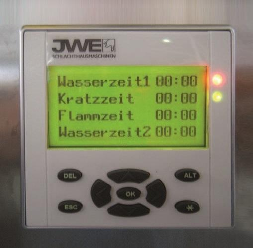Двухвалковая скребмашина с автоматическим проходным шпарчаном JWE SDM 50-160 - фото 54450