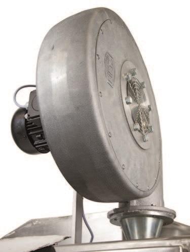Двухвалковая скребмашина с автоматическим проходным шпарчаном JWE SDM 80-160 - фото 54453