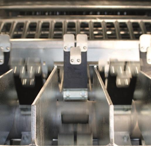 Двухвалковая скребмашина с автоматическим проходным шпарчаном JWE SDM 80-160 - фото 54454