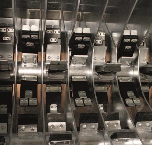 Двухвалковая скребмашина с автоматическим проходным шпарчаном JWE SDM 82-160 - фото 54459