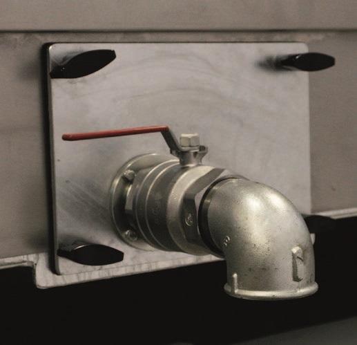 Двухвалковая скребмашина с автоматическим проходным шпарчаном JWE SDM 82-160 - фото 54460
