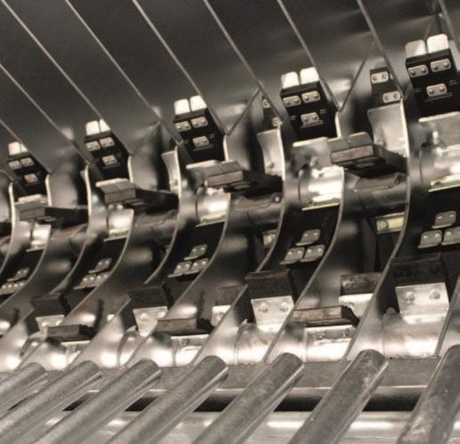Двухвалковая скребмашина с автоматическим проходным шпарчаном JWE SDM 82-160 - фото 54461