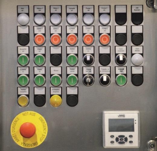 Двухвалковая скребмашина с автоматическим проходным шпарчаном JWE SDM 82-160 - фото 54462